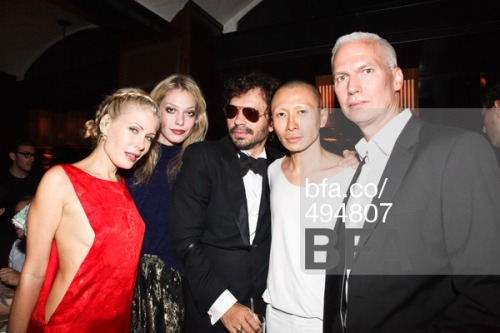 Olivier Zahm hosts 20th Anniversary Dinner for Purple Magazine with Richard Prince, Andre Balazs, Johan Lindeberg & Kim Gordon